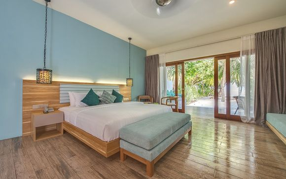 Votre extension à l'hôtel Rahaa Maldives 4*