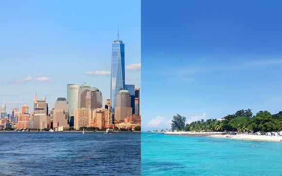 Combiné New-York et Jamaique