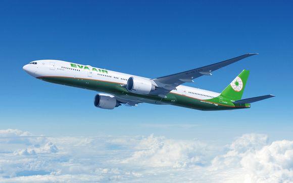 Envolez-vous avec la compagnie Eva Air