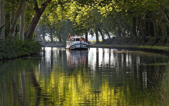 Croisière en péniche sur le Canal du Midi