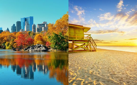 Combin� Hilton Garden Inn New York et Casa Victoria Orchid Miami