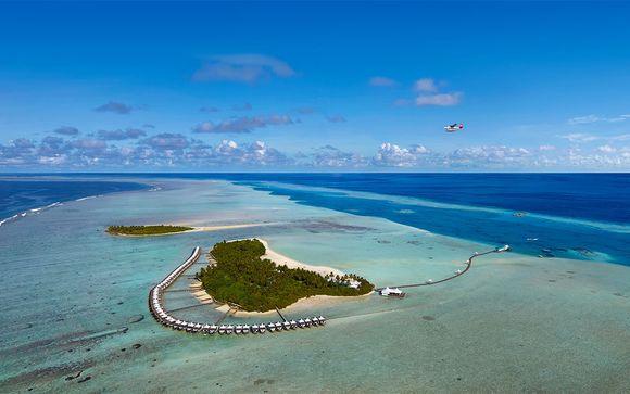 Votre extension à l'hôtel Cinnamon Hakuraa Huraa 4* aux Maldives