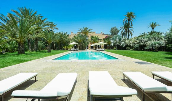 La Villa Les Palmiers de l'Oasis