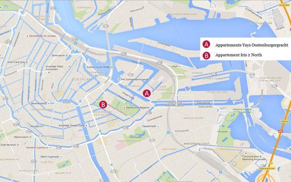 Localisation des studios / appartement