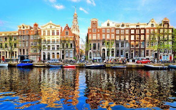 Séjour néerlandais dans quartier calme et branché