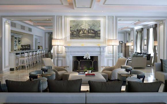 Poussez les portes de l'hôtel Thermae Sylla Spa Wellness 5* sur l'île d'Eubée