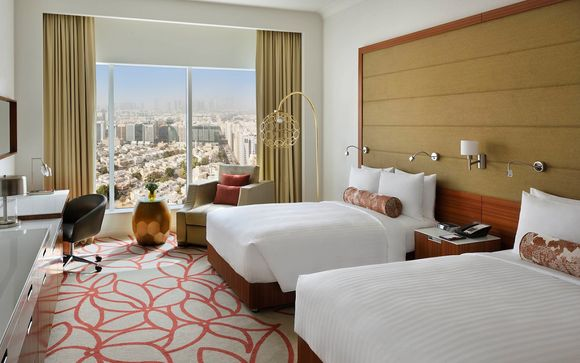 Votre Séjour à l'hôtel Marriott Downtown Abu Dhabi