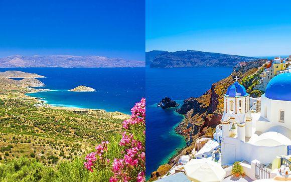 Autotour La Crète en toute liberté et séjour à Santorin