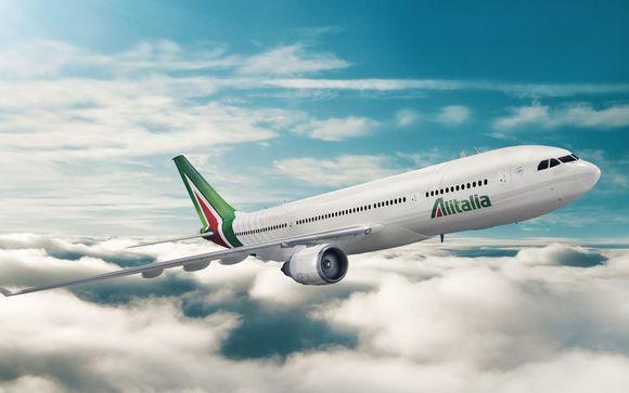 Offrez-vous un vol direct avec Alitalia