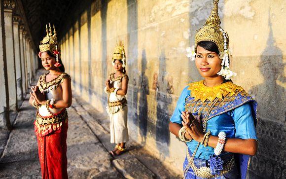 Circuit Cambodge en liberté avec ou sans extension