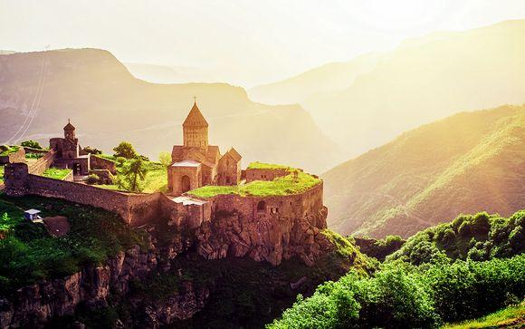 Circuit Arménie Majestueuse ou combiné Iran/Arménie