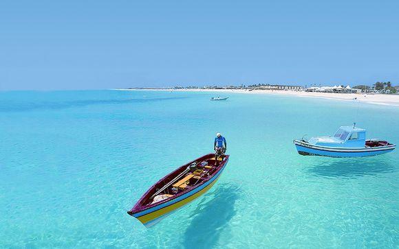 Cap-Vert Sal - Echappée Capverdienne - Club Héliades Riu Funana  5* à partir de 979,00 €
