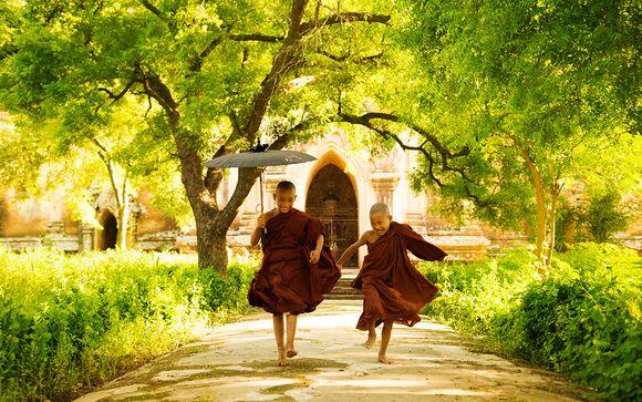 Circuit Birmanie en liberté 7 ou 10 nuits avec possibilité d'extension