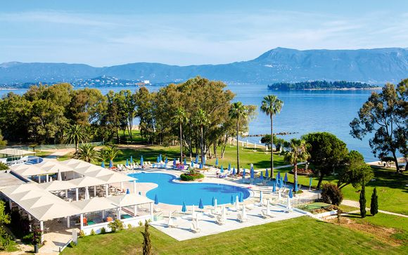 Hôtel Family Life Louis Kerkyra Golf 4*