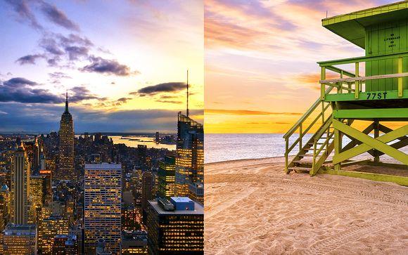 Combiné 4* New York/Miami avec ou sans Croisière Bahamas