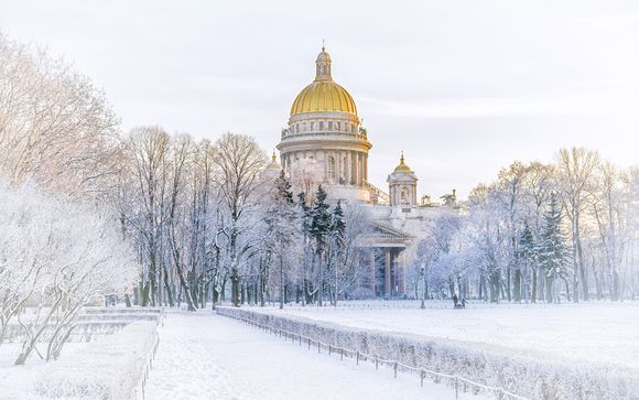 Circuit Impérial St. Pétersbourg en hôtel 4*