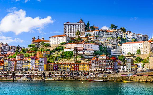 Cliphotel Gaia Porto avec une croisière incluse