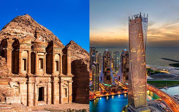 Circuit de Pétra à Dubai en 8j/7n ou 10j/9n en 4* ou 4* et 5*