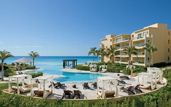 Hôtel Now Jade Riviera Cancun 5* avec escale à New York