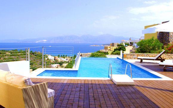 Cocon avec piscine privée et vue mer