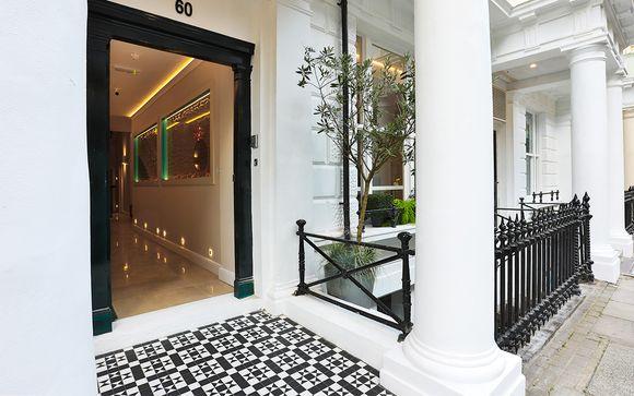 Poussez les portes de l'hôtel J London 4*
