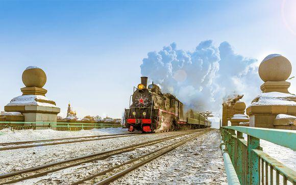 Le Transsib�rien de Moscou � P�kin et d�part possible de Saint-P�tersbourg