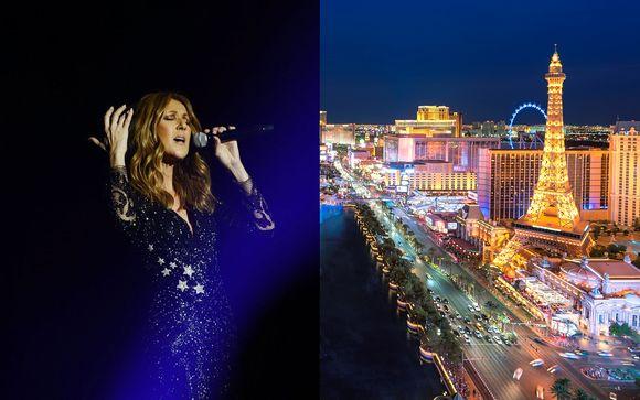 Hôtel Caesars Palace 4* et concert de Céline Dion