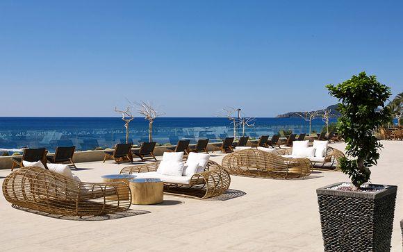 Séjour onirique face à la mer Egée