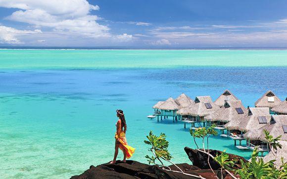 Combiné Meridien Tahiti 4*, Hilton Moorea 5* et Conrad Bora Bora 5*