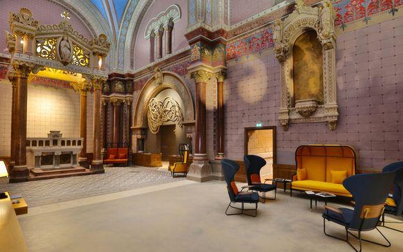 Charme historique dans un ancien couvent