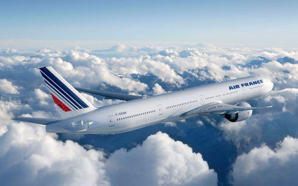 Offrez-vous un vol en classe économique avec Air France