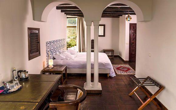 Poussez les portes de l'hôtel Castillo de Monda