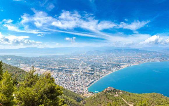 Paradis grec au bord de l'eau