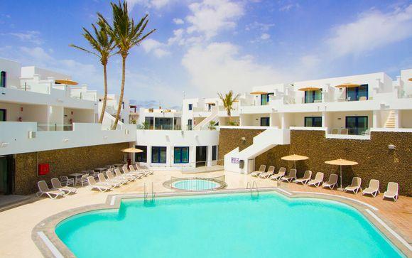 Poussez les portes de l'hôtel Aqua Suites 4*