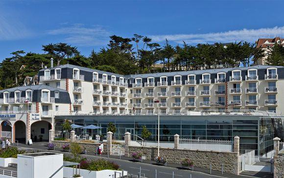 Poussez les portes du Spa Marin du Val André Thalasso Resort 4*