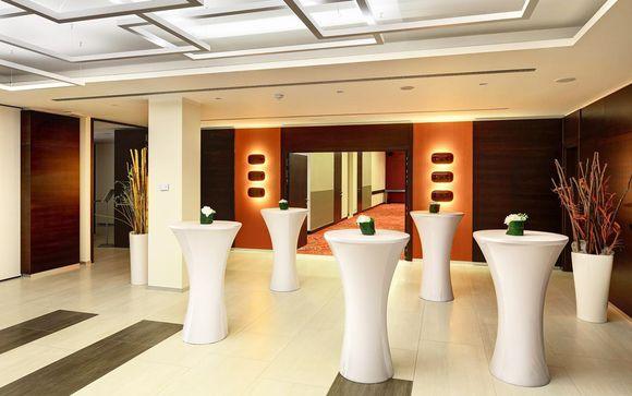 Poussez les portes de l'hôtel Duo Prague 4*