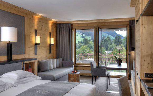 Poussez les portes du Hôtel Park Gstaad 5*