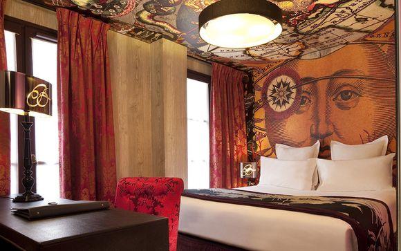 Poussez les portes de l'hôtel Bellechasse 4*