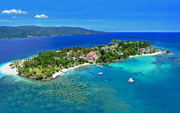 Prestige sur l'unique hôtel de l'île