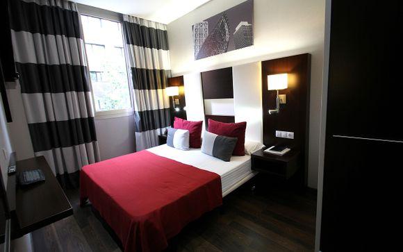 Poussez les portes de l'hôtel Golden Tulip Barcelona 4*