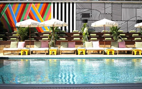 Poussez les portes du McCarren Hotel & Pool à New York