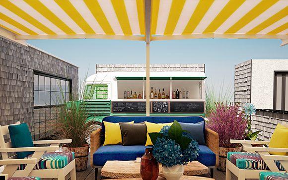 Design original et toit-terrasse au coeur de la Gran Via