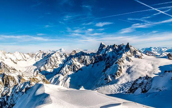 Vue 360° face au massif