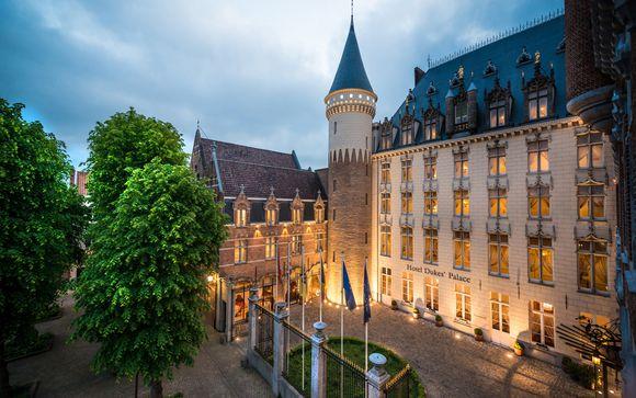 Hôtel Duke's Palace 5* et pré-extension possible à Bruxelles