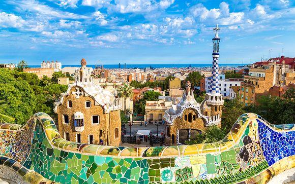 Pied-à-terre moderne dans la Cité de Gaudi