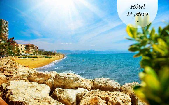 Spa et vue sur la mer en Andalousie