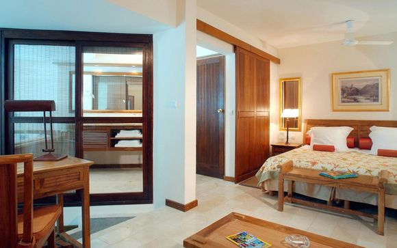 Poussez les portes de l'hôtel Le Saint Alexis 4* à Saint-Gilles Les Bains