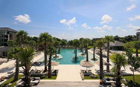 Poussez les portes de l'hôtel Radisson Blu Bali Uluwatu 5*