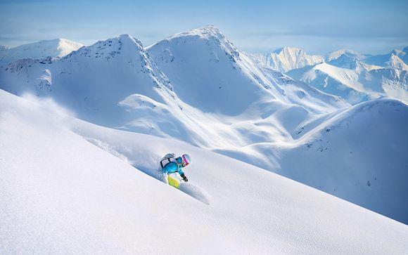 Poudreuse et tout inclus dans les Alpes du Sud