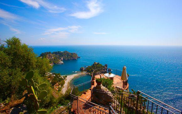 Cadre raffiné et atmosphère unique face à la mer - Taormina -